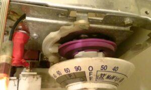 Снятие командоаппарата на стиральной машине