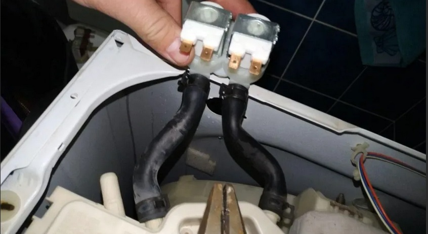замена впускного клапана