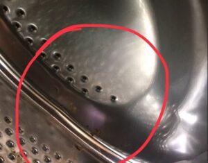Дырка в барабане стиральной машины