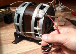 Как подключить мотор от старой стиральной машины?
