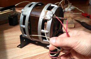 Как подключить мотор от старой стиральной машины