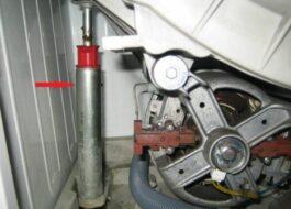 Как поменять амортизаторы на стиральной машине?