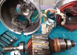 Как разобрать мотор от стиральной машины?