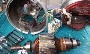 Как разобрать мотор от стиральной машины
