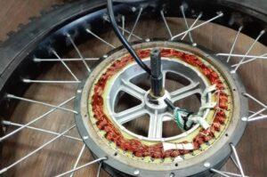 Как сделать мотор-колесо из стиральной машины?