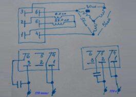 Подключение двигателя от стиральной машины Вятка-автомат