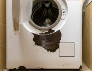 Покрасить ржавчину на стиральной машине