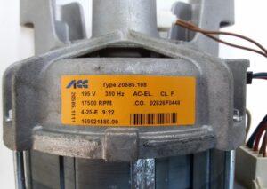 Технические характеристики мотора стиральной машины