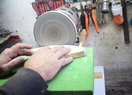 Шлифовальный станок из мотора от стиральной машины