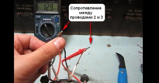 двигатель с 3 выводами