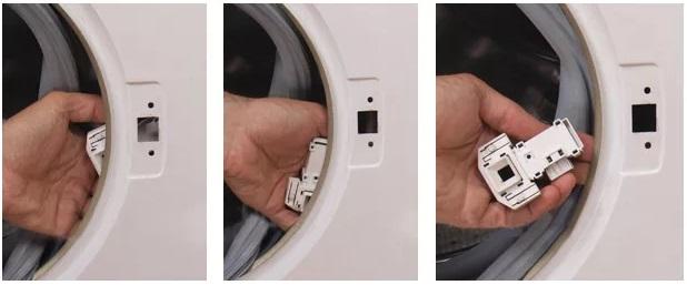 откручиваем УБЛ стиральной машины