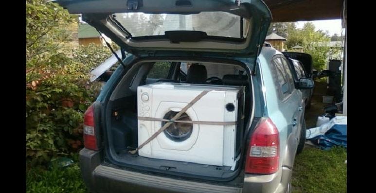 перевозка машинки в легковом авто