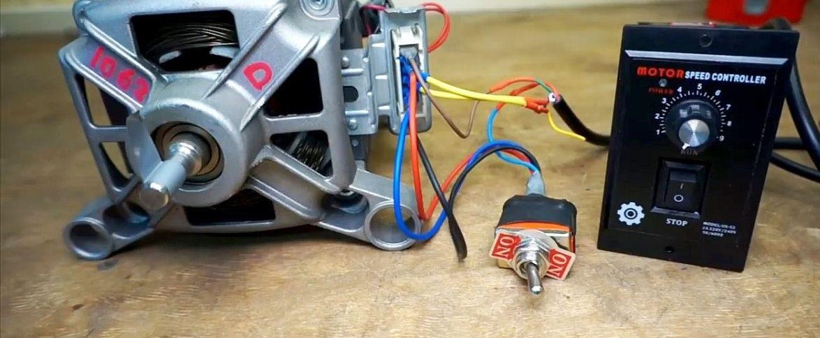 подключаем мотор