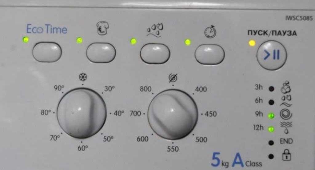 светодиоды хаотично мигают
