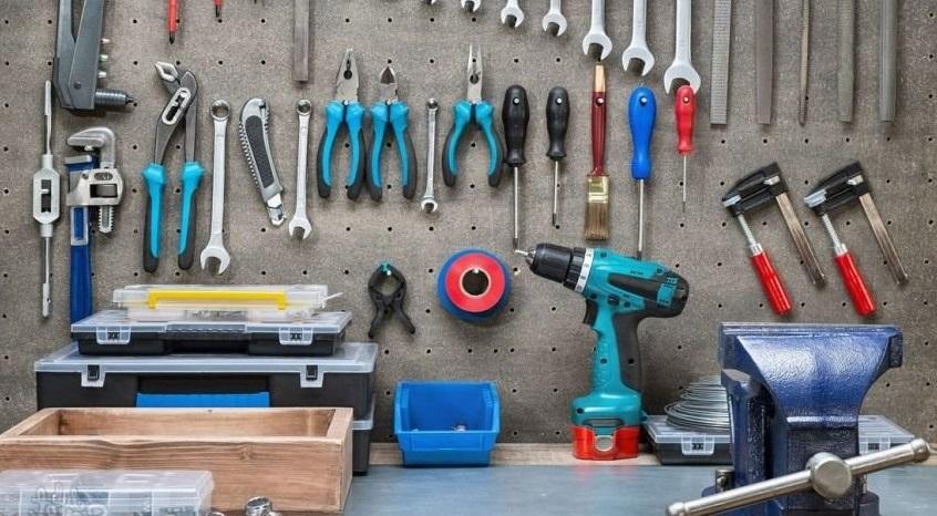 стандартный набор гаражного инструмента