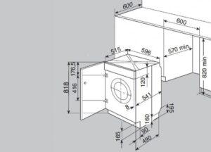 Как подобрать стиральную машину по размерам