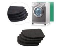 Как сделать антивибрационные подставки для стиральной машины?