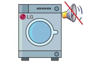 На стиральной машине LG пропал звук