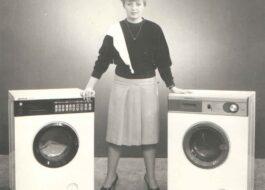 Первая автоматическая стиральная машина в СССР