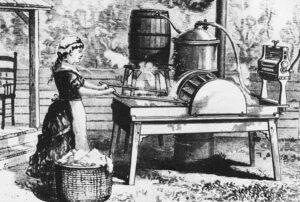 Первая стиральная машина в мире
