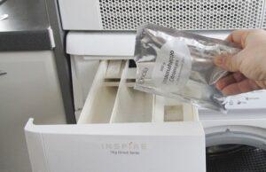 Первый запуск стиральной машины без белья