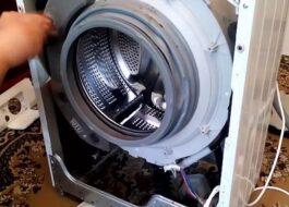 Разборка стиральной машины Vestel