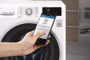 Управление стиральной машиной LG с телефона