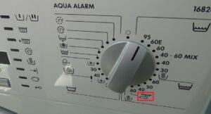 Что означает знак утюга на стиральной машине