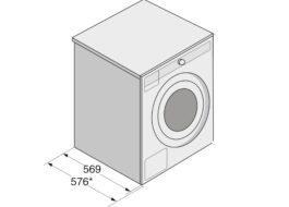 Что такое глубина стиральной машины?