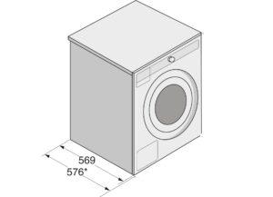 Что такое глубина стиральной машины