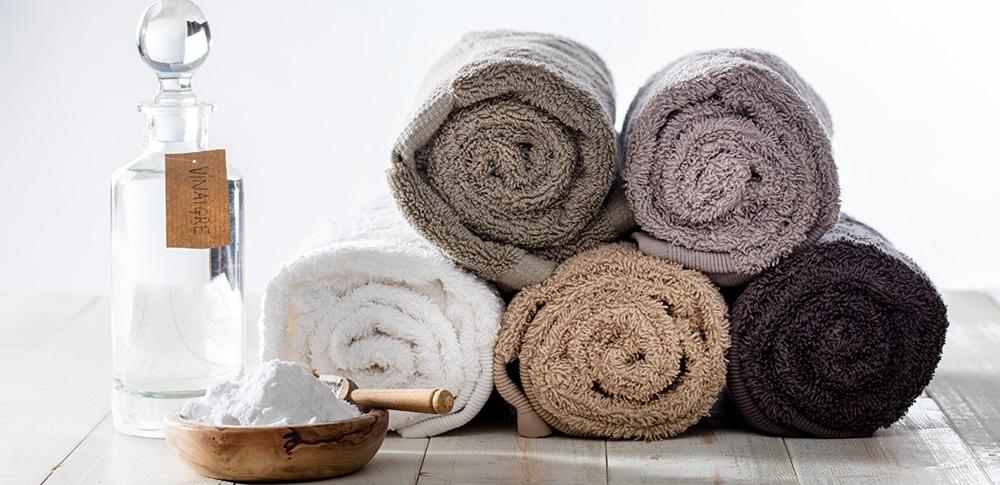 уксус делает полотенца мягче