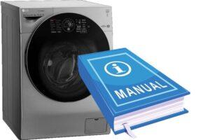 Инструкция по применению стиральной машины LG с сушкой