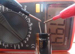 Как проверить конденсатор стиральной машины тестером?