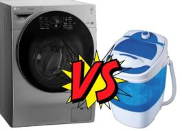 Чем отличается стиральная машина автомат от полуавтомата?