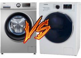 Какая стиральная машина лучше Haier или Samsung?