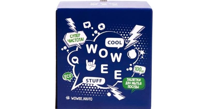 таблетки для посуды WOWEE