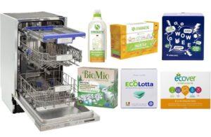 5 лучших экологических средств для посудомоечных машин