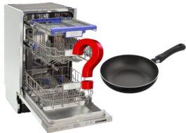 Можно ли мыть тефлоновую сковородку в посудомойке?
