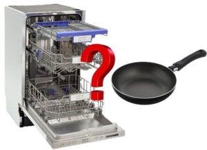 Можно ли мыть тефлоновую сковородку в посудомойке