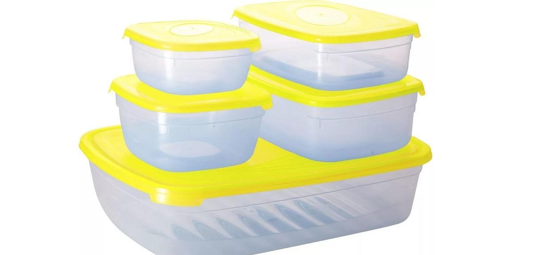 оцените пластик контейнера визуально и на ощупь