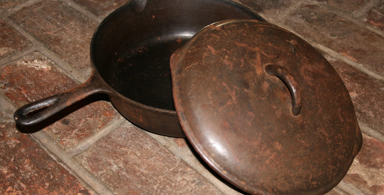 чугунная сковородка заржавела после ПММ