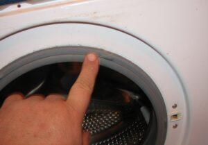 Как перевернуть резинку в стиральной машине