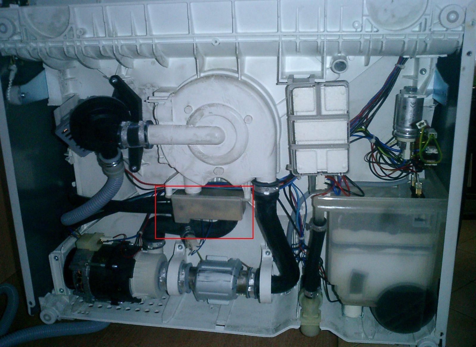Как разобрать посудомоечную машину Electrolux