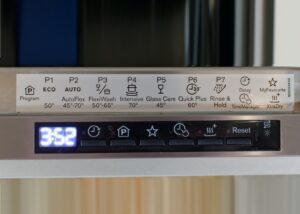 Обозначения на посудомоечной машине Electrolux