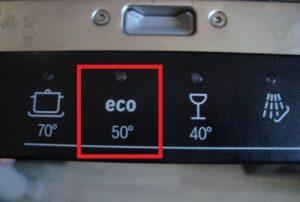 Режим Эко в посудомоечной машине