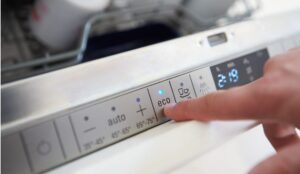 Режим Эко в посудомоечной машине Neff