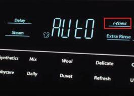 Что такое i-time в стиральной машине Haier?