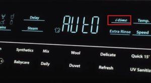 Что такое i-time в стиральной машине Haier