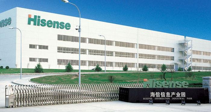 где находится производство Hisense