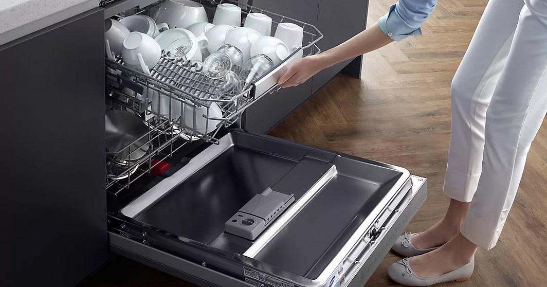 как заложить посуду в корзины ПММ чтобы она промылась